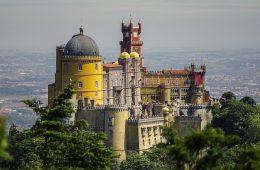 Lisbon sintra palace