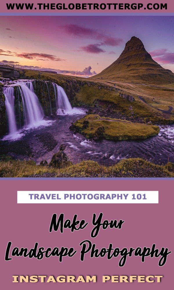 Are you an aspiring travel photographer? Want beautiful landscape photos from your travels? These simple landscape photography tips will have you feeling like a pro in no time at all! Make your landscape photos instagram-worthy! #photographytips #landscapephotography #landscapephotographytips