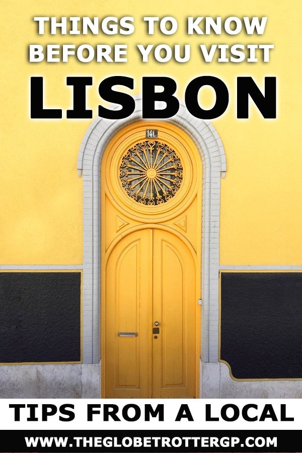 Lisbon city guide with tips from a local - find the best places to visit in Lisbon