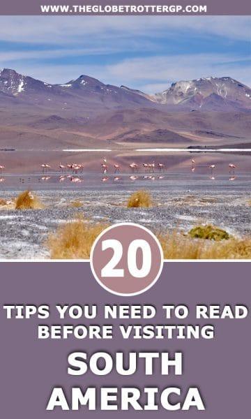 20 south america travelling tips - travel hacks for south america travel. I wish Id known these 20 things before I travelled to south america! #southamerica #samerica