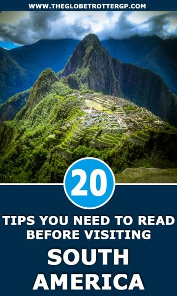 20 south america travelling tips - travel hacks for south america travel. I wish Id known these 20 things before I travelled to south america! #southamerica