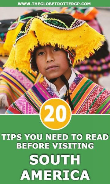 20 South America Travel Tips you need to read before you visit! These travel hacks will make backpacking south america much easier #southamerica #southtamerica