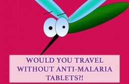 anti malaria tablets - would you travel without them?