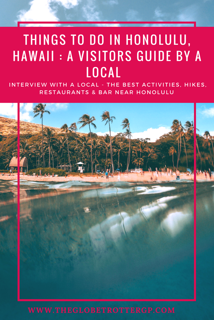 The Best things to do in Honolulu, Hawaii. A Hawaii visitors guide written by a local who knows best! The best food, activities, shopping, hikes, beaches, waterfalls bars and restaurants in Honolulu, Oahu, waikiki and all over Hawaii! Definitely on my travel bucket list!