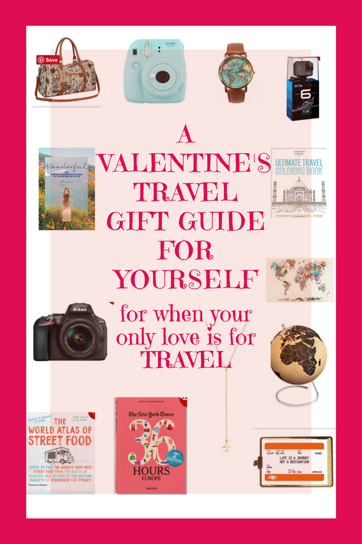 A travel gift guide for presents you can buy yourself! A Valentines gift guide with a twist! The best, unique quirky, pretty, functional and fun pressies you can buy yourself. | Gift guide for travellers | #giftguide