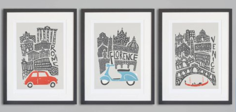Best gifts for couples city prints