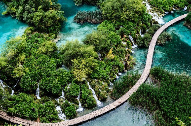 Croatia road trips in europe plitvice lakes