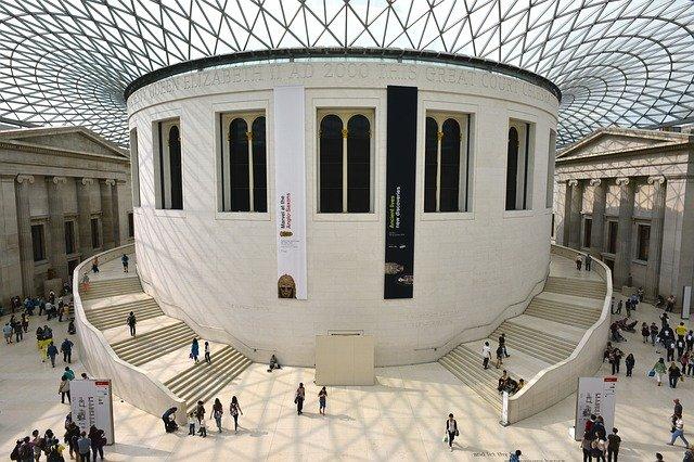 London in winter british museum