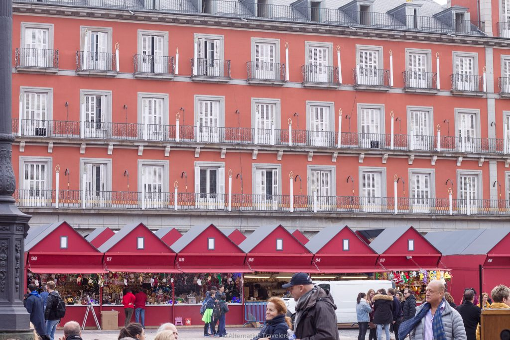 Madrid in winter Christmas Markets in Plaza Mayor - Alternative Travelers