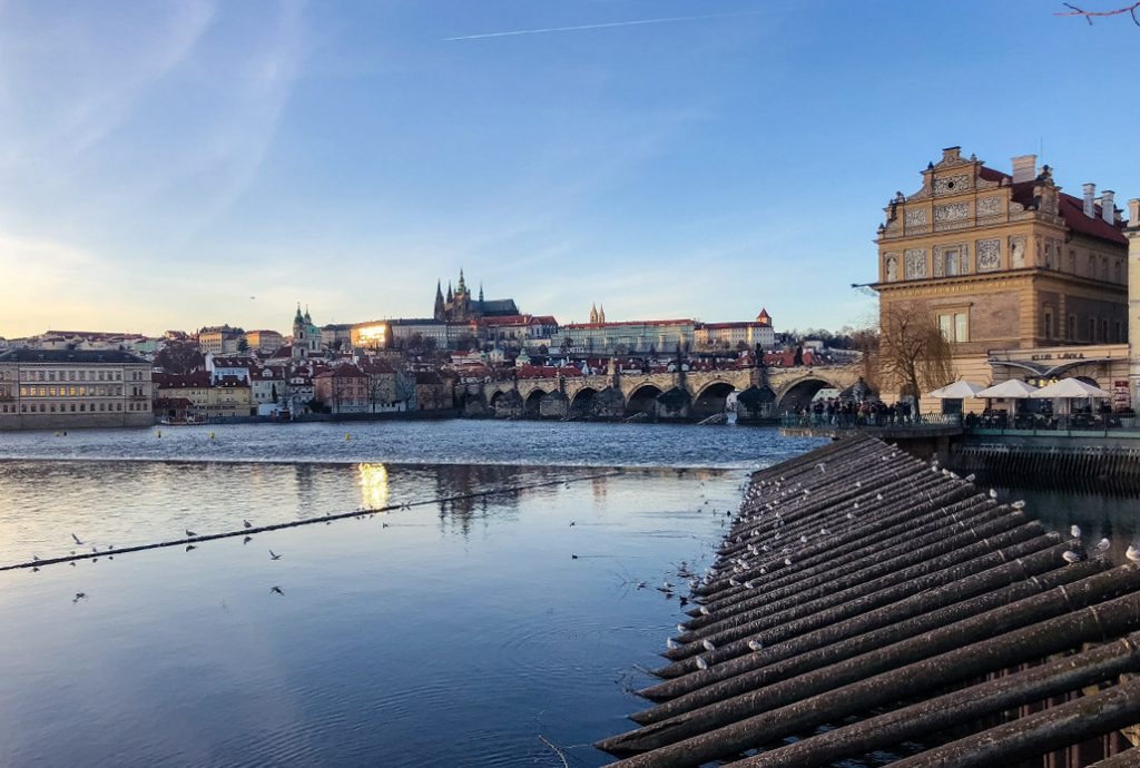 Winter in Prague Castle and Charles Bridge by TravelGeekery
