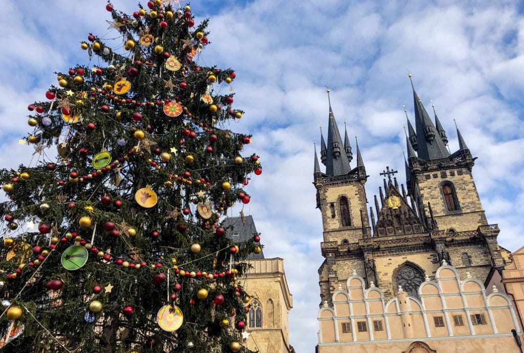 Winter in Prague Old Town Square TravelGeekery