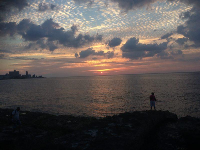 Sunset Malecon Havana - best winter sun holiday destinations
