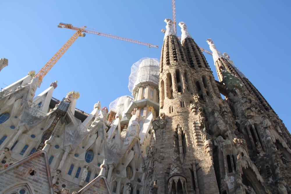 barcelona in summer Sagrada Familia by Latitude41