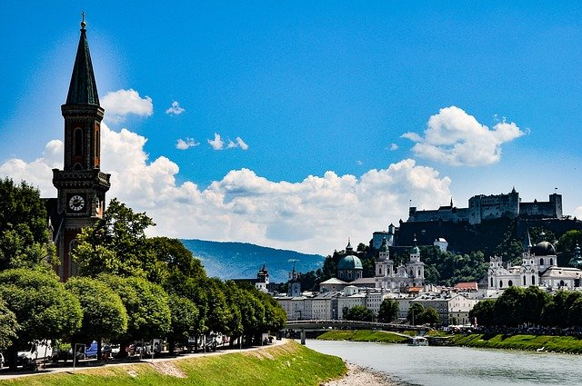 best cities for couples salzburg, austria