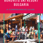 Ski holidays in Bulgaria - a cheaper ski holiday destination in Europe! Tips to get the most from your winter travel to Borovets in Bulgaria. Borovets is a winter wonderland and this guide to Borovets will help you get the most from your Bulgarian ski holiday! From where to eat and drink to which hotel to stay in and where to hire your skis and arrange ski school! Also other activities for non-skiers! #skiholiday #borovets #skiinginborovets