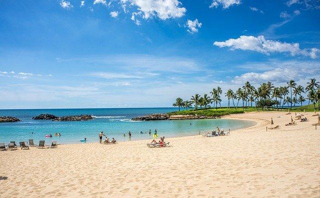 hawaii winter sun