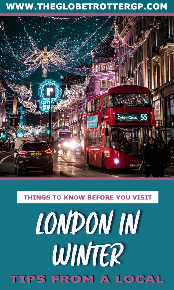 Visiting London in winter? This London travel guide has heaps of London travel tips to help you have the perfect English city break! #london #londoninwinter