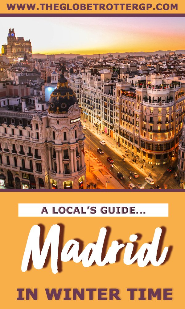 Visiting Madrid in winter? This Madrid visitors guide written by a local is packed with tips for visiting Madrid including the best restaurants in madrid and the best things to do in madrid! #madrid