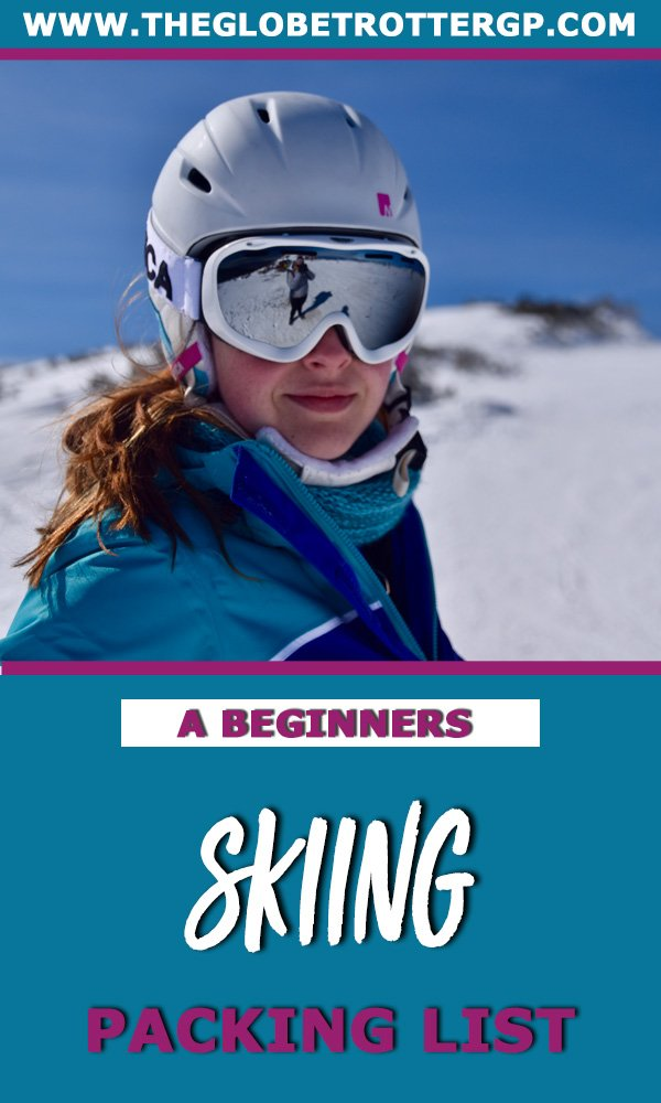 Are you going on your first ski trip? Wandering what to pack for a ski trip? Then look no further! This skiing packing list written for beginner skiers to help plan their ski trip and make sure they have all the ski essentials they will need. #skiing #skitrip #skipackinglist #skiingpackinglist
