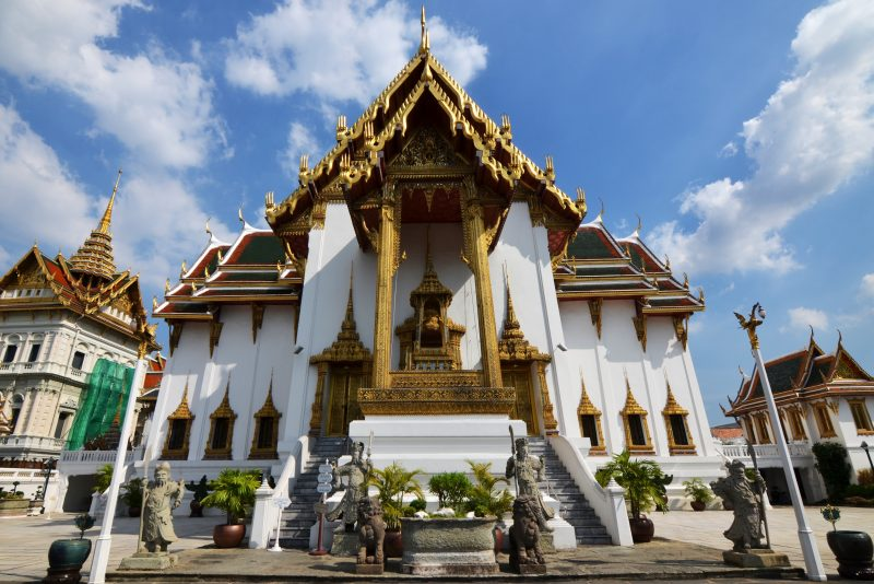 Temples in Bangkok at the start of our G Adventures tour