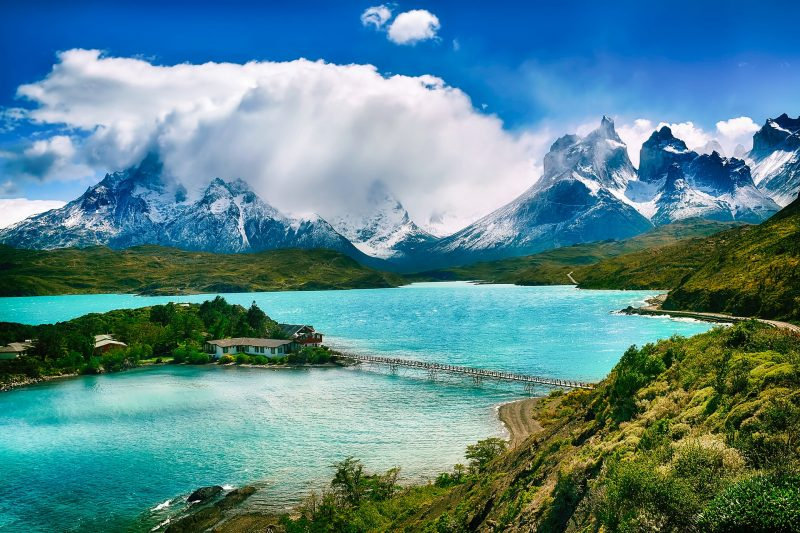 torres del paine patagonia scene of mountains and lake south america itinerary