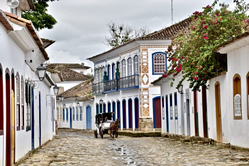 paraty colonial beach town brazil south america itinerary