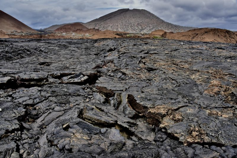 lava formations santiago bay galapagos the south america itinerary
