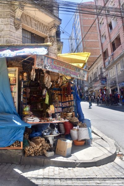 la paz witches market south america itinerary