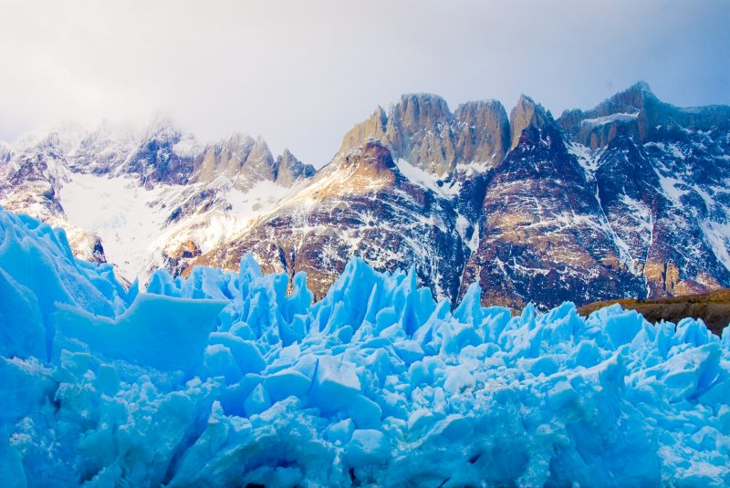 glacier in patagonia torres del paine south america itinerary