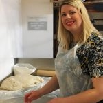 Learning to make turkish pide at saray restaurant in cardiff