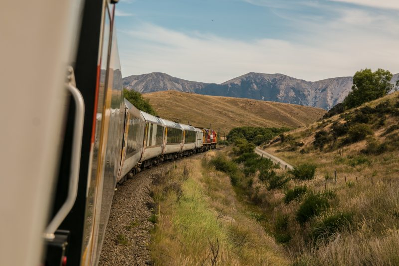 Rail travel with G Adventures