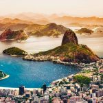 Panoramic view of Rio de Janeiro - view of sugarloaf mountain - Ultimate south america itinerary