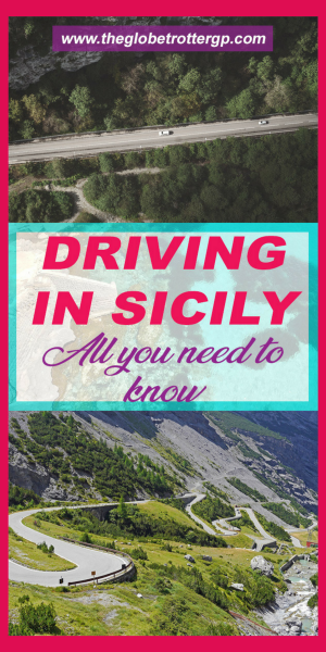 Driving in sicily - useful tips for your italy road trip. All the tips and travel hacks you need for your roadtrip in sicily to tackle the hairpin bends, italian drivers and make sure you get a good deal on car hire! From where to park to how to deal with car tolls.#italy #sicily #roadtrip #drivinginsicily #roadtripinsicily