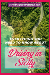 Road tripping in sicily - useful tips for your italy road trip. Whilst driving in Scily is not always easy, here are some travel tips and hacks to get you cheap car hire and make it easier to get about, find parking and avoid car theft! Roadtripping in Sicily is amazing! #sicily #roadtrip #italy # drivingholiday