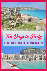 THE ULTIMATE 10 DAY SICILY ITINERARY – THE BEST CITIES, BEACHES, ARCHEOLOGICAL SITES & ISLANDS. Need some travel inspiration? Wondering what are the must sees in Sicily. In this article you will find out the best things to do and places to see in sicily. Including some of the best hotels and restaurants in sicily.