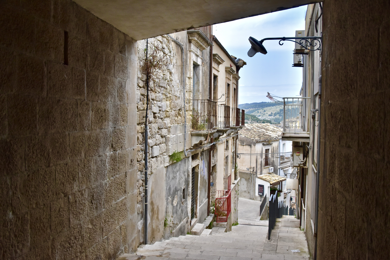 streets in ragusa in sicily