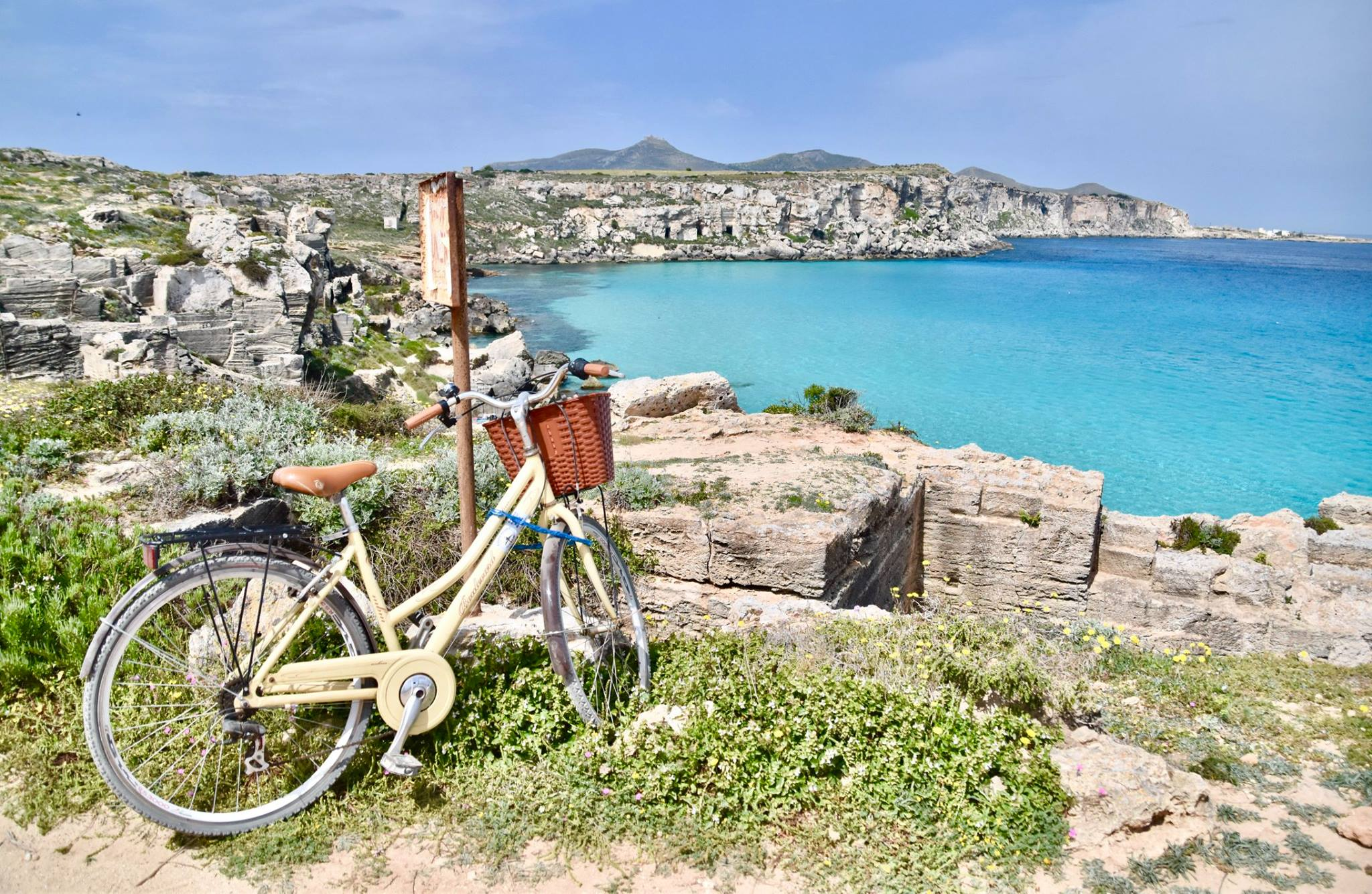 sicily cycling around favignana