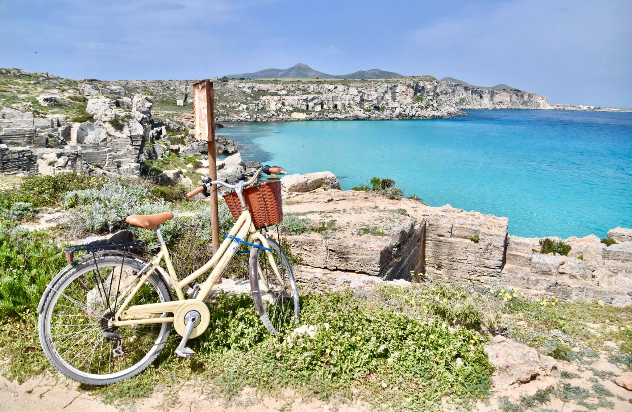 sicily cycling around favignana