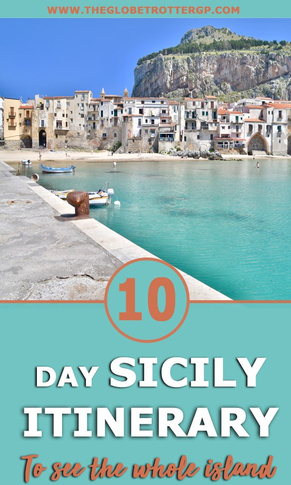 sicily itinerary for 10 days with all the best sicily travel tips and things to do