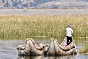 Classic Peru with G Adventures - Lake Titicacaca - floating islands of uros