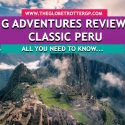 G adventures review classic peru