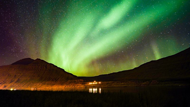 Northern Lights in iceland - the Aurora Borealis in winter - the best time to visit iceland