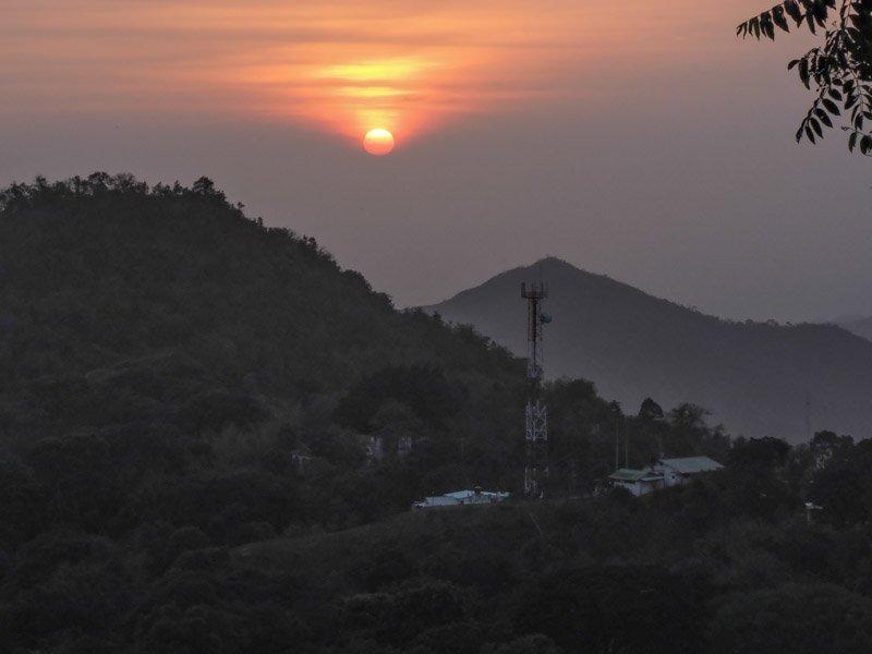 Colombia Minca Casa Loma Sunset - winter sun holidays
