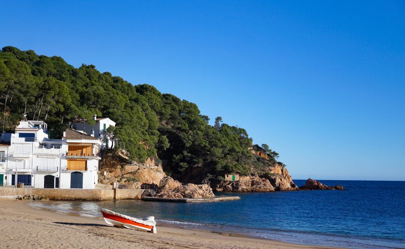 Costa Brava in spain - a greta winter vacation destination