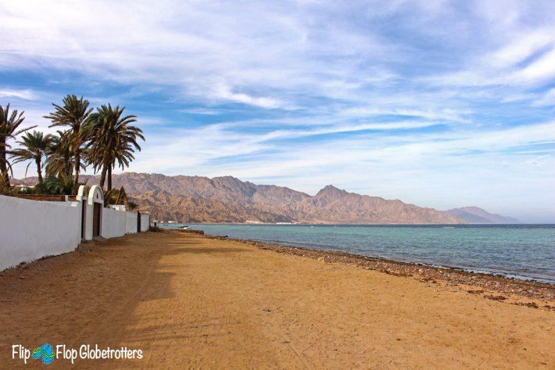 Assalah Beach Dahab Egypt - a winter sun destination