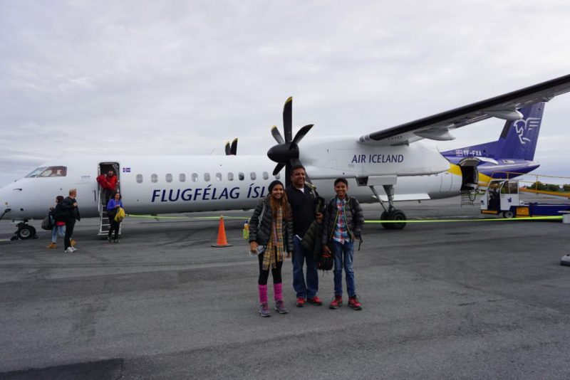 North Iceland day trip from Reykjavik via AirIceland