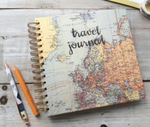 travel gifts for her - travel journal