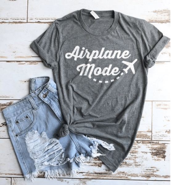 best travel gifts for her - t shirt