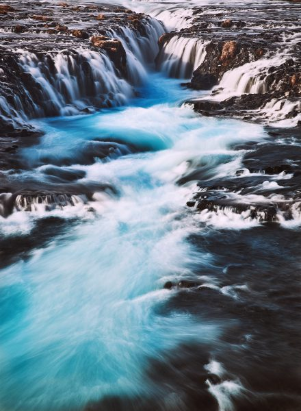 braurfoss waterfall, golden circle icleand