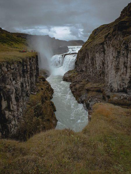 gulfoss waterfall the golden circle